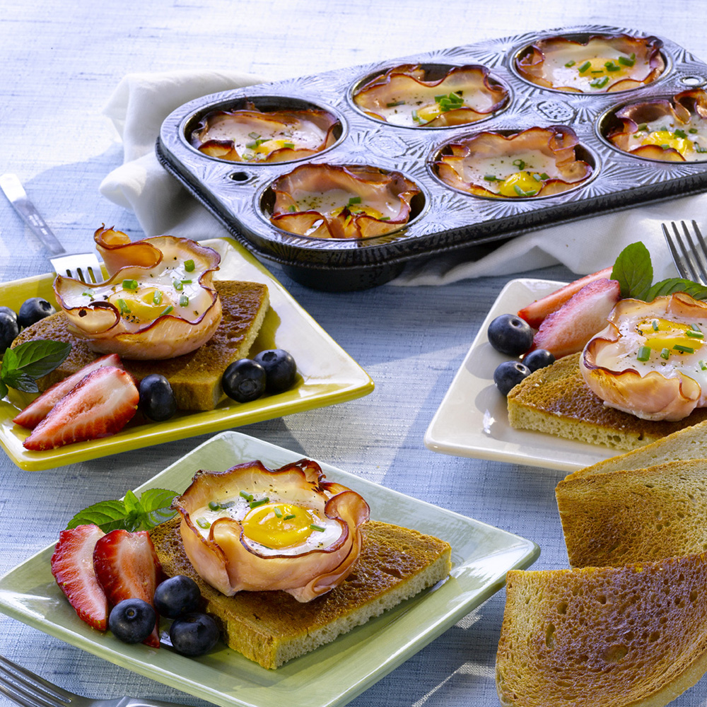 Ham and Egg Muffins