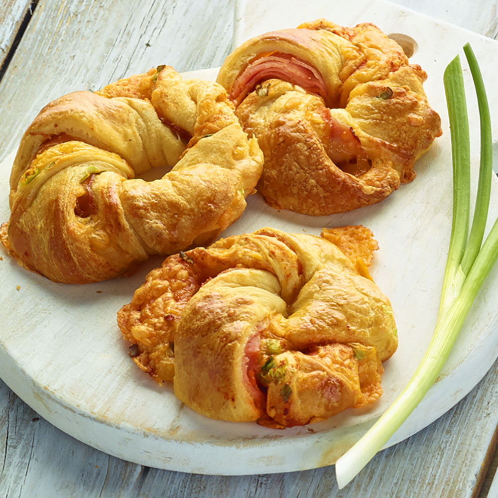 Crescent Roll Breakfast Rings
