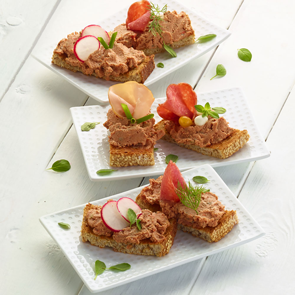 Open-Faced Finger Sandwiches
