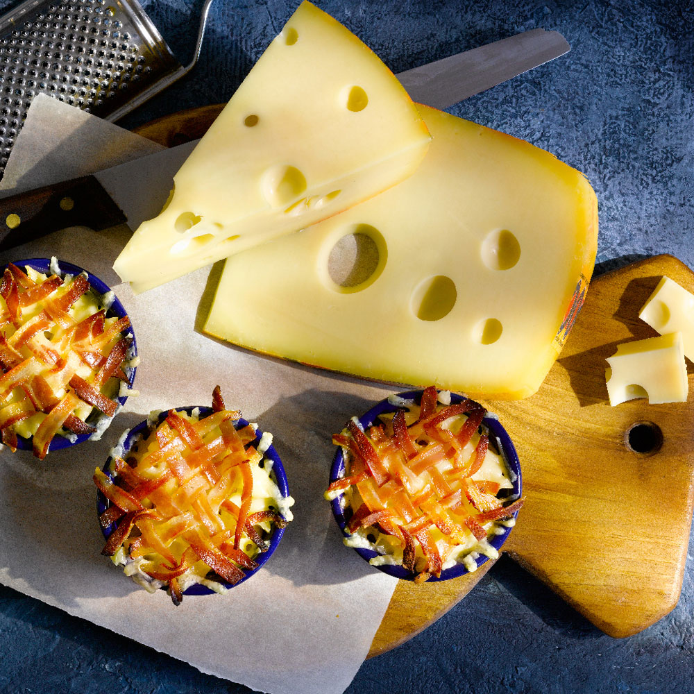 Bacon Mac and Cheese Minis